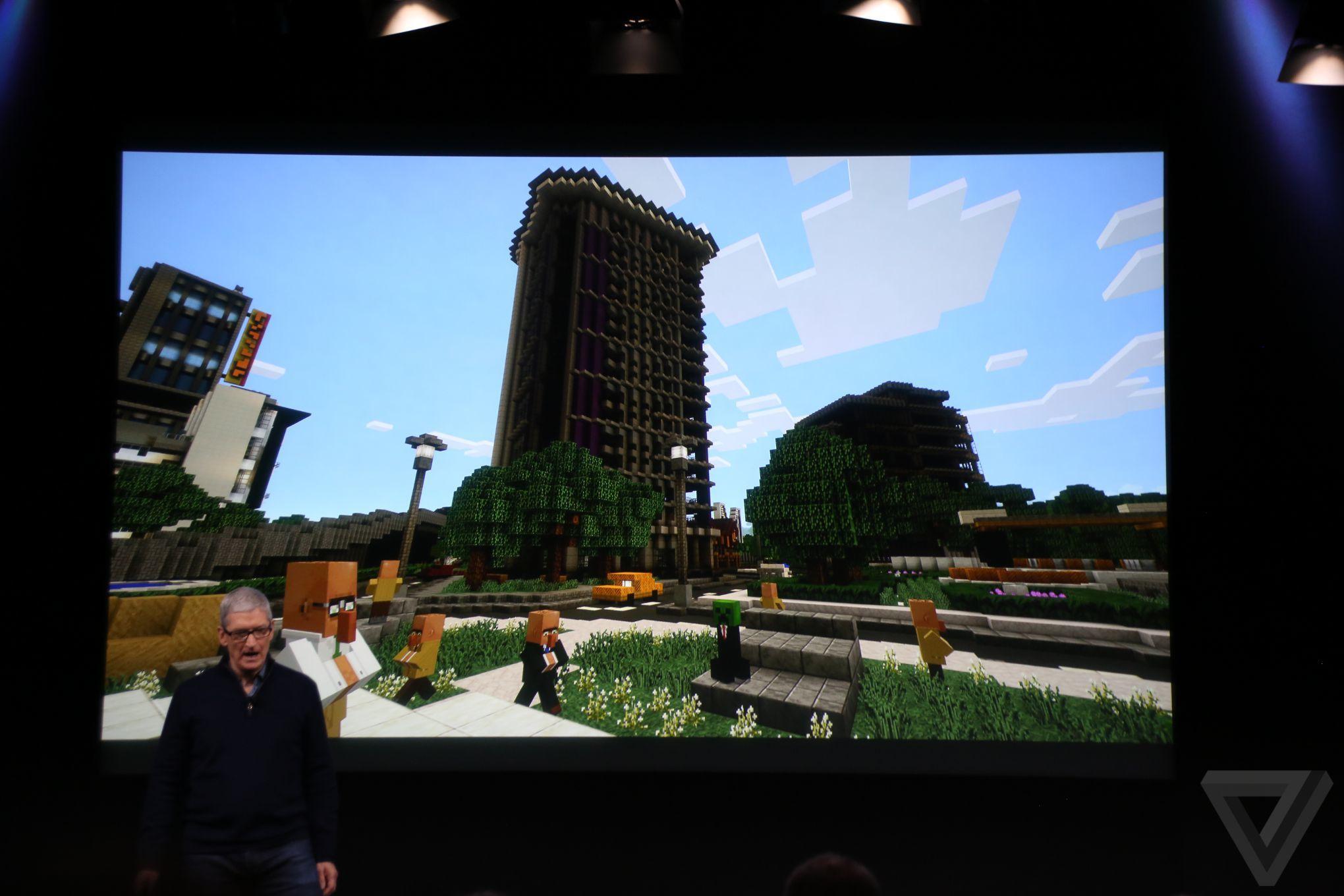 Minecraft está vindo para a Apple TV.